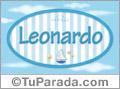 Leonardo, nombre de bebé, nombre de niño