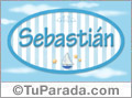 Sebastián, nombre de bebé, nombre de niño