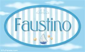 Faustino, nombre de bebé, nombre de niño