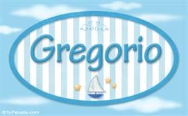 Gregorio, nombre de bebé, nombre de niño
