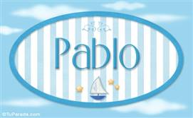 Pablo, nombre de bebé, nombre de niño