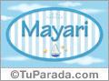 Mayari, nombre de bebé, nombre de niño
