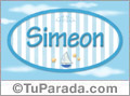 Simeon, nombre de bebé, nombre de niño