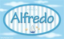 Alfredo, nombre de bebé, nombre de niño