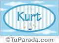 Kurt, nombre de bebé, nombre de niño