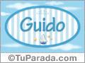 Guido, nombre de bebé, nombre de niño