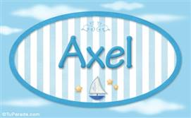 Axel, nombre de bebé, nombre de niño