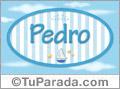 Pedro, nombre de bebé, nombre de niño