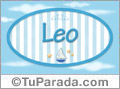 Leo, nombre de bebé, nombre de niño