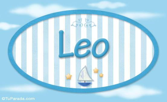 Leo, nombre de bebé, nombre de niño, imagen de Leo, nombre de bebé, nombre de niño