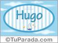 Hugo, nombre de bebé, nombre de niño