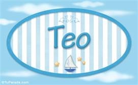 Teo, nombre de bebé, nombre de niño
