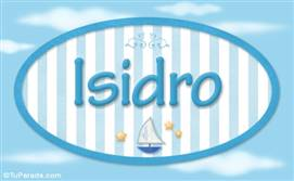 Isidro, nombre de bebé, nombre de niño