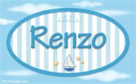 Renzo, nombre de bebé, nombre de niño
