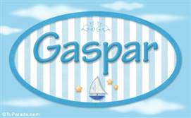 Gaspar, nombre de bebé, nombre de niño