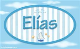 Elías, nombre de bebé, nombre de niño