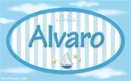 Alvaro, nombre de bebé, nombre de niño