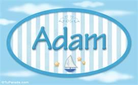 Adam, nombre de bebé, nombre de niño