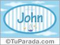 John, nombre de bebé, nombre de niño
