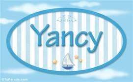 Yancy, nombre de bebé, nombre de niño