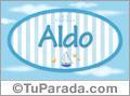 Aldo, nombre de bebé, nombre de niño