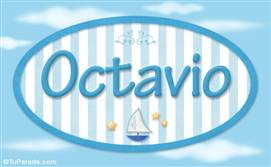 Octavio, nombre de bebé, nombre de niño