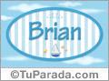 Brian, nombre de bebé, nombre de niño