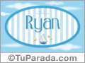 Ryan, nombre de bebé, nombre de niño