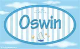 Oswin, nombre de bebé, nombre de niño