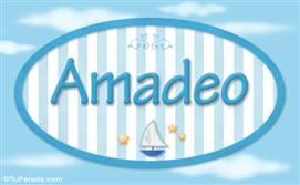 Amadeo, nombre de bebé, nombre de niño