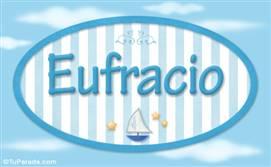 Eufracio, nombre de bebé, nombre de niño