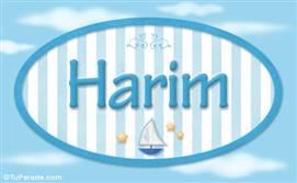 Harim, nombre de bebé, nombre de niño