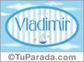 Vladimir, nombre de bebé, nombre de niño