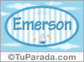 Emerson, nombre de bebé, nombre de niño