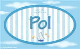 Pol, nombre de bebé, nombre de niño