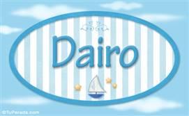 Dairo, nombre de bebé, nombre de niño