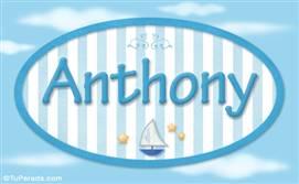 Anthony, nombre de bebé, nombre de niño