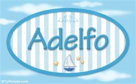 Adelfo, nombre de bebé, nombre de niño