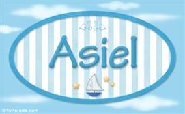Asiel, nombre de bebé, nombre de niño