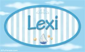 Lexi, nombre de bebé, nombre de niño