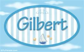 Gilbert, nombre de bebé, nombre de niño