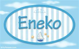Eneko, nombre de bebé, nombre de niño