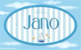 Jano, nombre de bebé, nombre de niño
