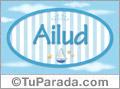 Ailud, nombre de bebé, nombre de niño