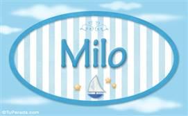 Milo, nombre de bebé, nombre de niño
