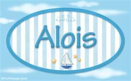 Alois, nombre de bebé, nombre de niño