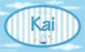 Kai, nombre de bebé, nombre de niño