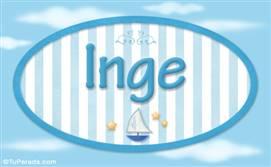Inge, nombre de bebé, nombre de niño