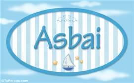 Asbai, nombre de bebé, nombre de niño