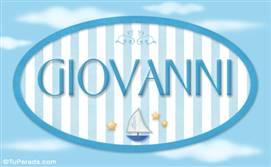 Giovanni, nombre de bebé, nombre de niño